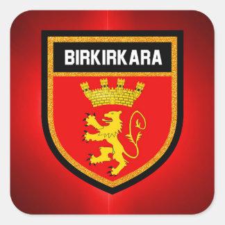 Birkirkara Flag Square Sticker
