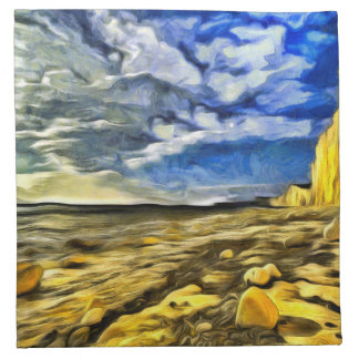 Birling Gap And Seven Sisters Art Napkin