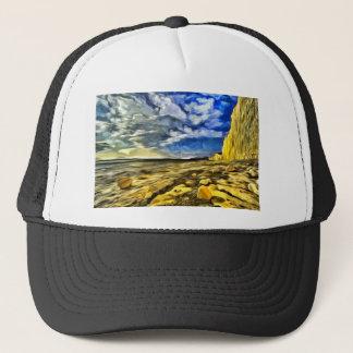 Birling Gap And Seven Sisters Art Trucker Hat