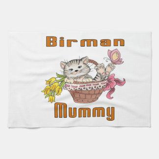 Birman Cat Mom Kitchen Towel