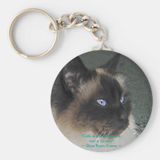 BIRMAN RAGDOLL CAT Collection Keychain