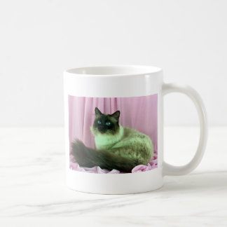 Birman, seal point coffee mug