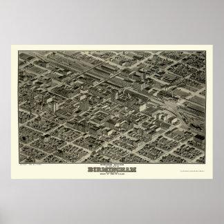Birmingham, AL Panoramic Map - 1903 Poster