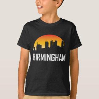 Birmingham Alabama Sunset Skyline T-Shirt