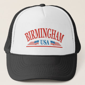 Birmingham Alabama USA Trucker Hat