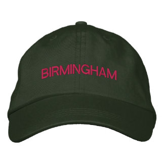 Birmingham Cap Embroidered Hat