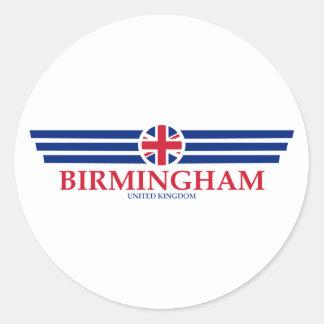 Birmingham Classic Round Sticker