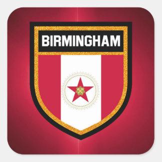 Birmingham Flag Square Sticker