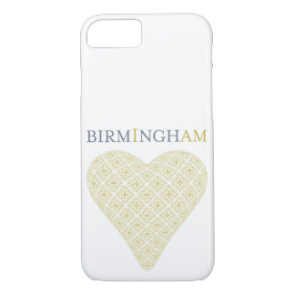 Birmingham Golden Heart Phone Case