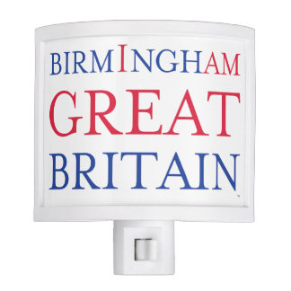 Birmingham Great Britain Nite Light