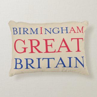 Birmingham Great Britain Throw Pillow