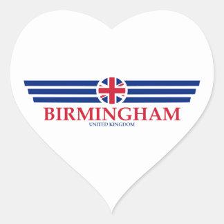 Birmingham Heart Sticker