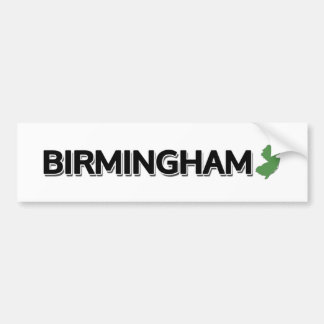 Birmingham, New Jersey Bumper Sticker
