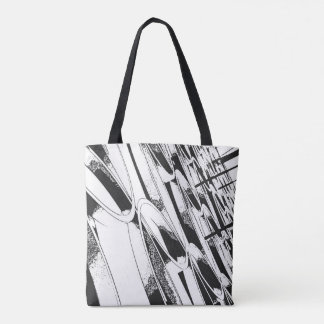 Birmingham new Library facade on tote bag