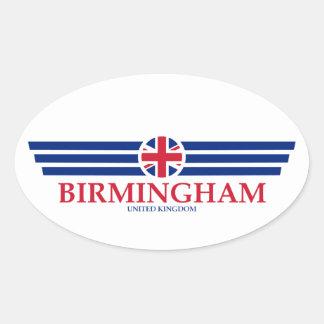 Birmingham Oval Sticker