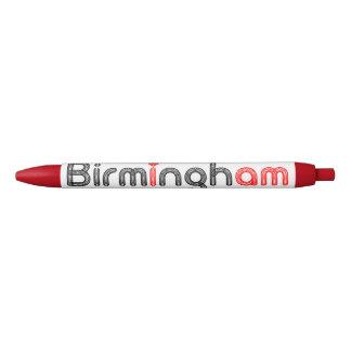 Birmingham Red Heart Pen