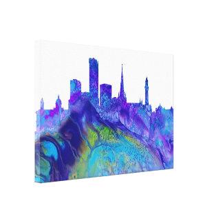 Birmingham Skyline Canvas Print