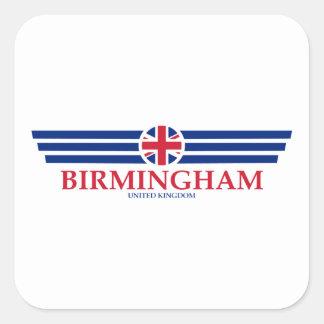 Birmingham Square Sticker