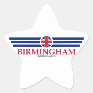 Birmingham Star Sticker