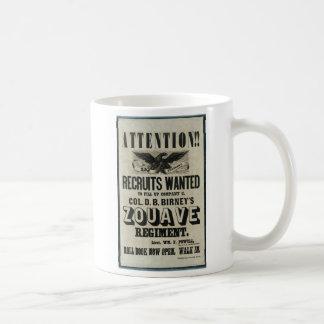 Birney's Zouaves Coffee Mug