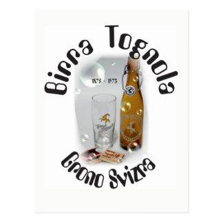 Birra Tognola Grono Svizra postcard