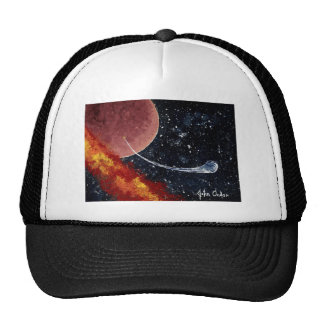 """BIRTH"" (an outer space design) ~ Trucker Hats"
