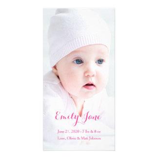 Birth Announcement - Photo Cards