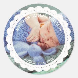 Birth Announcement Sticker