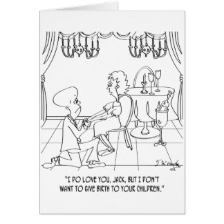 Birth Cartoon 9337 Card