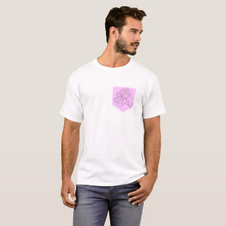 Birth Month Flower Pocket- January T-Shirt
