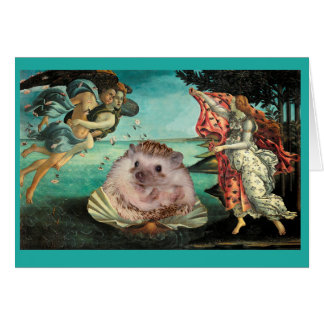 Birth of a Hedgehog Card