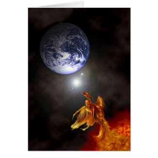 Birth of a Phoenix Card