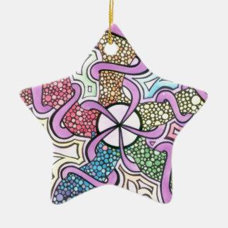Birth of a Star Ceramic Ornament