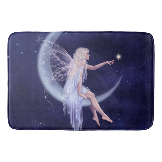 Birth of a Star Moon Fairy Bath Mat