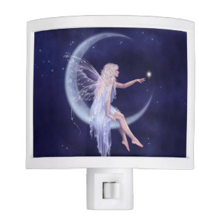 Birth of a Star Moon Fairy Night Light