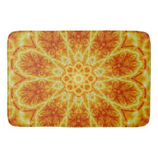 Birth of a Sun Mandala Bath Mat