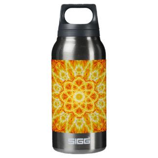 Birth of a Sun Mandala Insulated Water Bottle