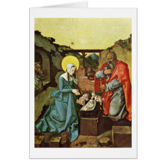 Birth Of Christ By Hans Baldung Card
