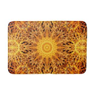 Birth of Fire Mandala Bathroom Mat
