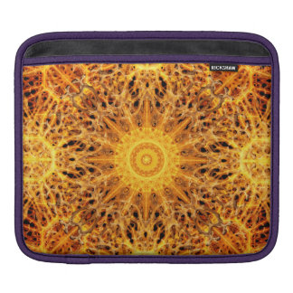 Birth of Fire Mandala iPad Sleeves