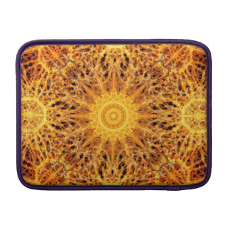 Birth of Fire Mandala MacBook Sleeves