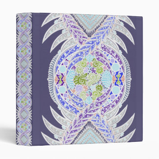 Birth of life, New age, meditation, boho, hippie 3 Ring Binder