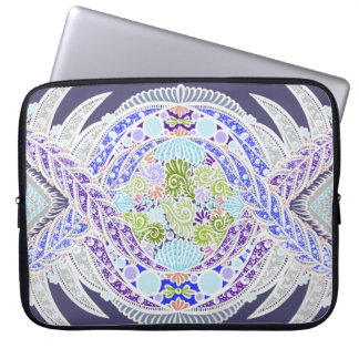 Birth of life, New age, meditation, boho, hippie Laptop Sleeve