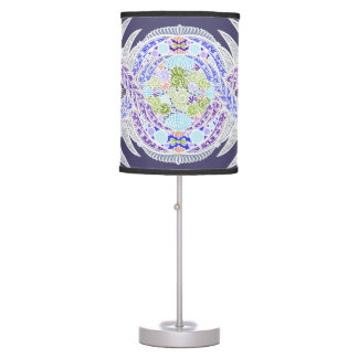 Birth of life, New age, meditation, boho, hippie Table Lamp