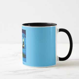"""BIRTH OF NAUTILUS"" 11 oz. FAIRY COFFEE MUG"