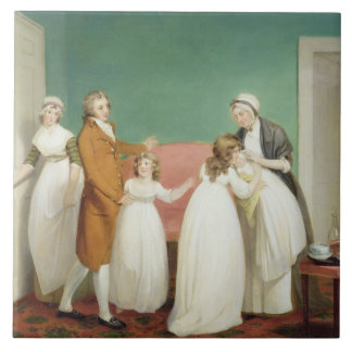 Birth of the Heir, c.1799 (oil on canvas) see also Tile