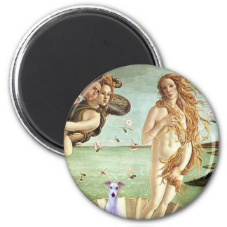 Birth of Venue - Whippet 8 2 Inch Round Magnet