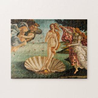 Birth of Venus by Botticelli Jigsaw Puzzle