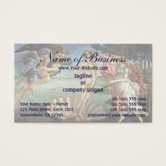 Birth of Venus by Sandro Botticelli Business Card