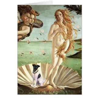 Birth of Venus - Smooth Fox Terrier Card